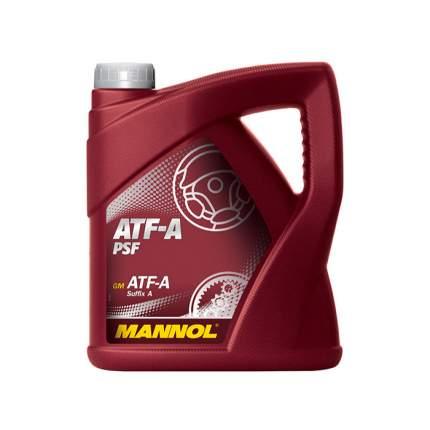 Минеральная жидкость MANNOL ATF-A PSF 3049, 4 л
