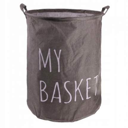 Корзина для белья My Basket (400*500мм) коричневая
