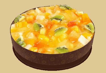 Пирог Тирольские пироги бисквитный Йогурт-тропик