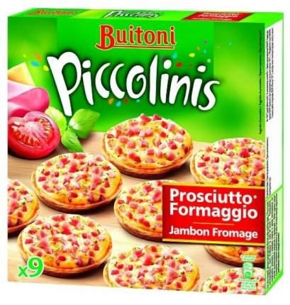 Пицца Buitoni Piccolinis Prosciutto с ветчиной и сыром замороженная 270 г