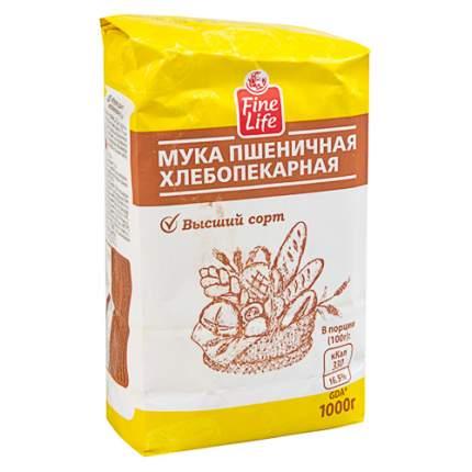 Мука Fine Life пшеничная высший сорт
