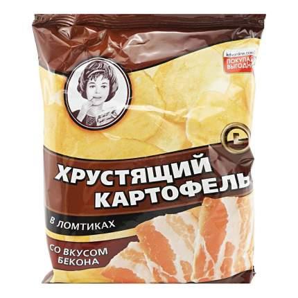 Чипсы Хрустящий картофель картофельные со вкусом бекона