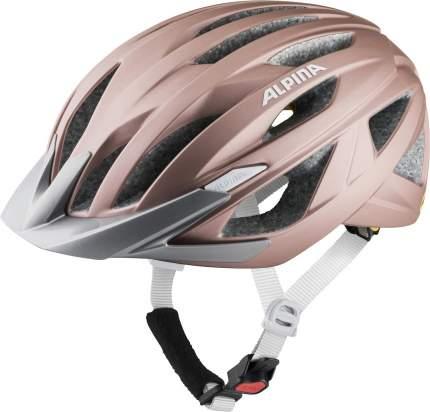 Велошлем Alpina 2021 Delft Mips Rose Matt (См:55-59)