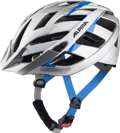 Велошлем Alpina 2021 Panoma 2.0 Silver/White Cyan Gloss (См:56-59)