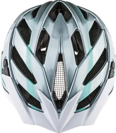 Велошлем Alpina 2021 Panoma 2.0 Steel Grey/Smaragd Gloss (См:56-59)