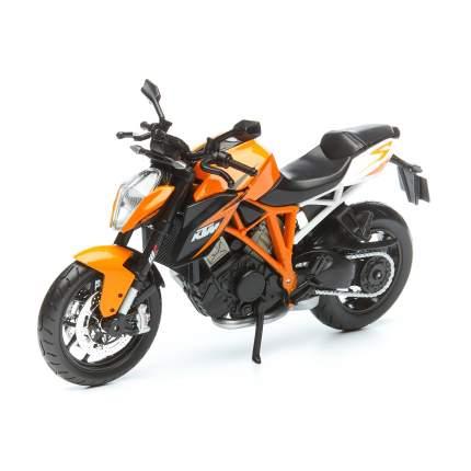 Мотоцикл Maisto KTM 1290 Super Duke, оранжевый 1:12