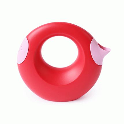 Лейка Quut Cana L 1 л, Cherry red + sweet pink
