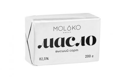 Сливочное масло Moloko Group 82,5% 200 г