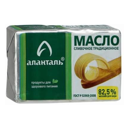 Сливочное масло Аланталь на закваске 82,5% 180 г