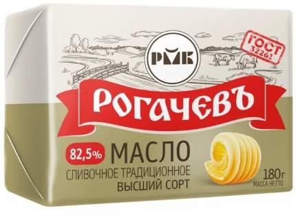 Сливочное масло сладкосливочное Рогачевъ Традиционное 82,5% бзмж 180 г