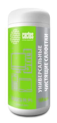 Салфетки влажные для оргтехники Cactus CS-ASC100