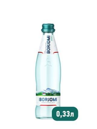 Borjomi вода природная минеральная 0.33 л в стекле 12 штук