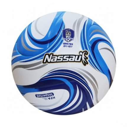 Футбольный мяч TUJI PREMIUM Nassau SSTG-P5 (5 размер) белый