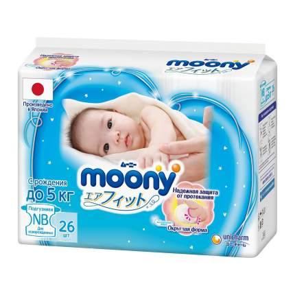 Moony Подгузники NB (до 5 кг), 26 шт 4903111-278800