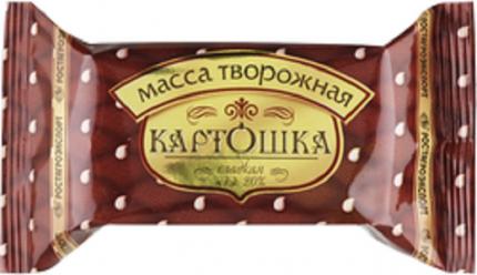 Творожная масса Ростагроэкспорт Картошка 20% 100 г