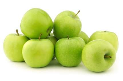Яблоки Гренни Смит Россия в пакете ~1,5 кг