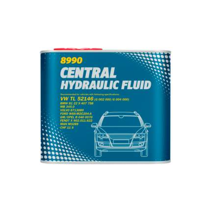 Гидравлическая жидкость MANNOL CENTRAL HYDRAULIK FLUID (metal) 2472, 1 л