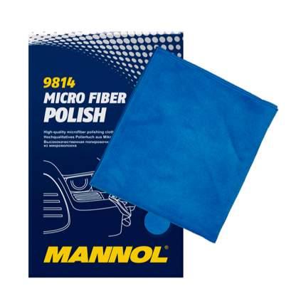 Полировочная салфетка MANNOL MICRO FIBER POLISH микрофазерная 2260