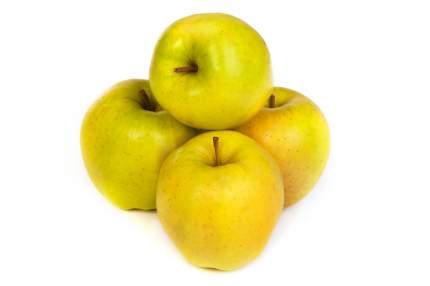 Яблоки Голден Сербия в пакете ~1,5 кг