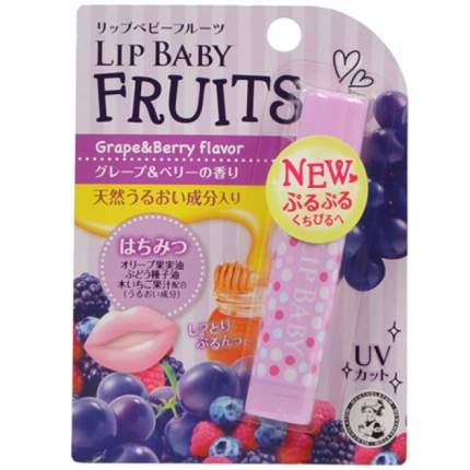 Mentholatum Увлажняющий бальзам для губ - Lip Baby, виноград и лесные ягоды