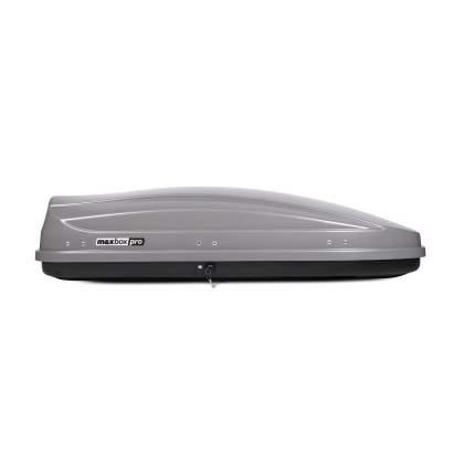 Бокс на крышу MaxBox Pro 460л; серый;175х84х42; двустороннее открывание; арт:MBP-460-S
