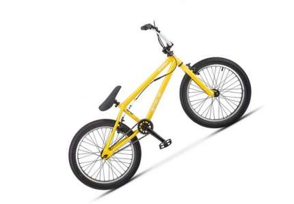 """Велосипед Stels Saber 20 V020 2021 13"""" желтый"""