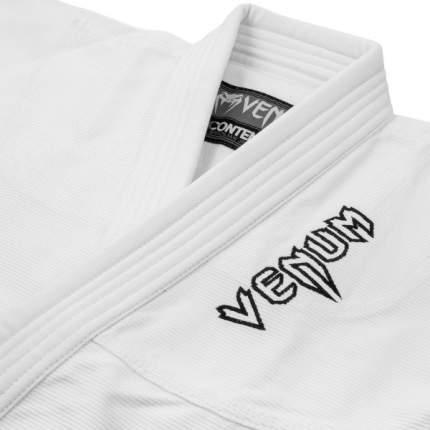 Кимоно для бжж Venum Contender Kids White с поясом , C1
