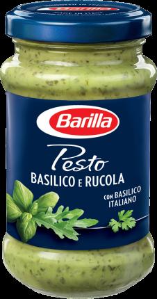 Соус Barilla песто с базиликом и рукколой