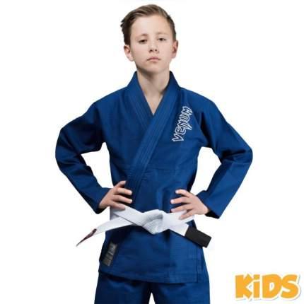 Кимоно для бжж Venum Contender Kids Blue с поясом , C3