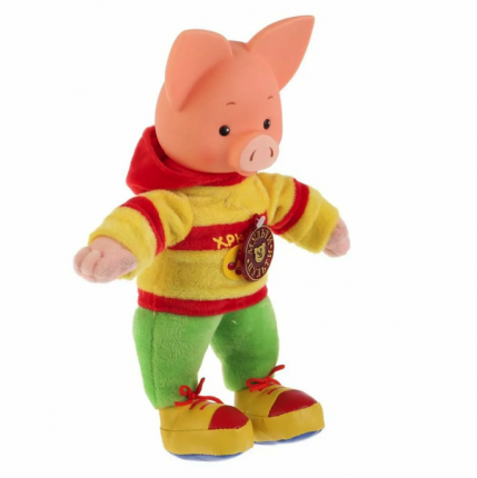 Мульти-Пульти Озвученная мягкая игрушка – Хрюша, 25 см
