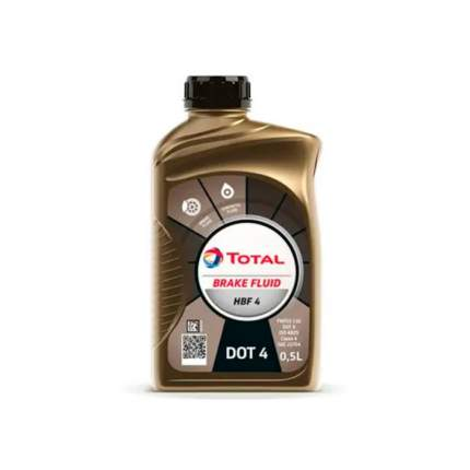 Тормозная жидкость TOTAL HBF DOT 4 213824, 500мл