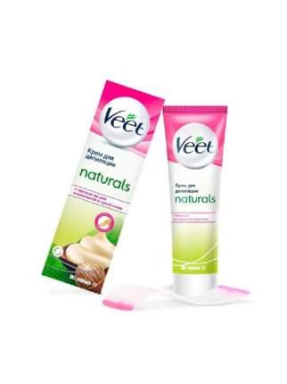 Крем для депиляции Veet Naturals с маслом виноградной косточки 100мл