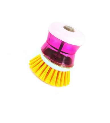 Щётка с резервуаром для моющего средства CLEANING ESSENTIAL (Фиолетовый, Оранжевый)