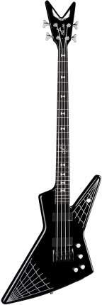Бас-гитара Dean JE SPIDER CBK