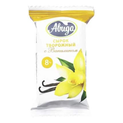 Сырок Авида с ванилином 8% 100 г бзмж