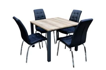 Набор мебели Лори черный арт.K-170/W-120 бежевый, черный