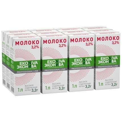 Молоко 3,2% ультрапастеризованное 1 л ЭкоНива Professional Line