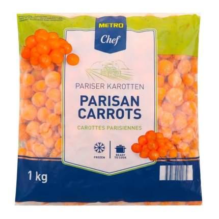 Морковь Metro Chef Парижская резаная быстрозамороженная 1 кг