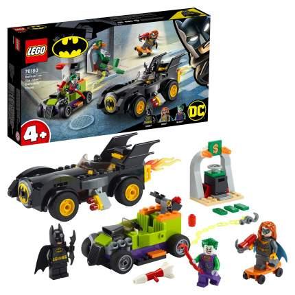 Конструктор LEGO DC Comics Super Heroes 76180 Бэтмен против Джокера: погоня на Бэтмобиле