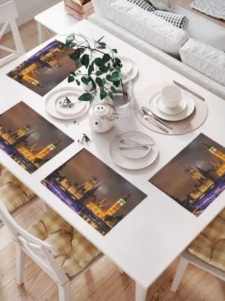 JoyArty Комплект салфеток для сервировки стола «Вечер в Лондоне» (32х46 см, 4 шт.)