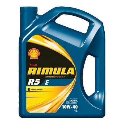 Моторное масло Shell Rimula R5 E 10W-40 4л