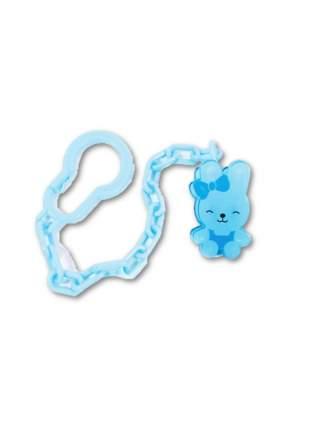 Держатель для пустышки Кролик цвет: голубой