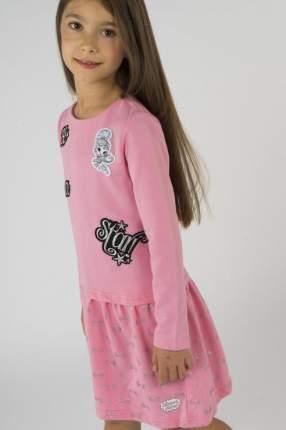 Платье для девочки Button Blue, цв.розовый, р-р 104