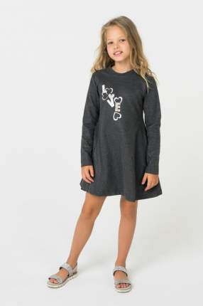 Платье для девочки Mayoral, цв.серый, р-р 104