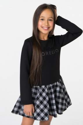 Платье для девочки Frankie morello junior, цв.чeрный, р-р 140