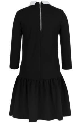 Платье для девочки Gulliver, цв.чeрный, р-р 146