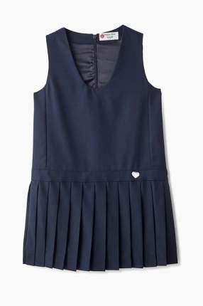 Платье для девочки Button Blue, цв.синий, р-р 164