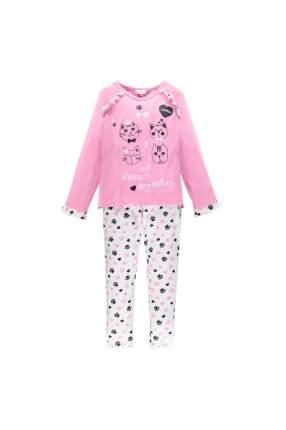 Пижама для девочки Brums, цв.белый, р-р 164