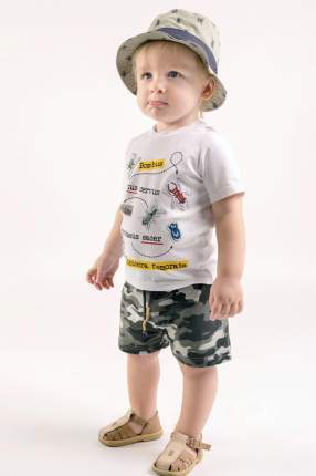 Панама детская PlayToday, цв.хаки, р-р 48