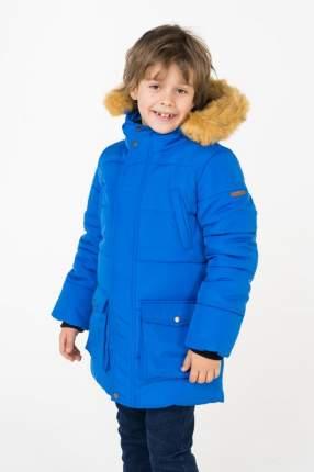Пальто зимнее для мальчика Button Blue, цв.синий, р-р 110
